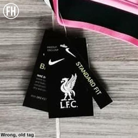 """The new nike 21/22 liverpool away jersey is here. Fakes! Nike Liverpool 21-22 Home, Away & Third Kits """"Leaked"""" - What's All Wrong - Footy Headlines"""