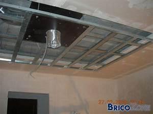 Installer Faux Plafond : faux plafond dans cuisine ~ Melissatoandfro.com Idées de Décoration