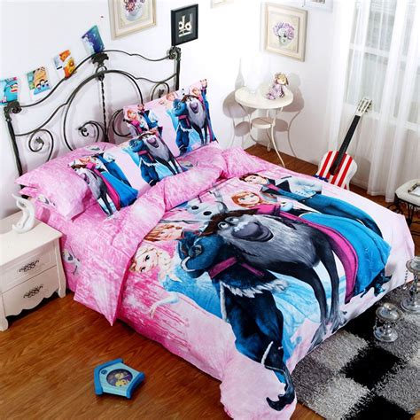 frozen comforter set queen and king size in 2019 frozen