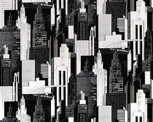 Grafische Muster Schwarz Weiß : schwarz wei tapete online kaufen ~ Bigdaddyawards.com Haus und Dekorationen