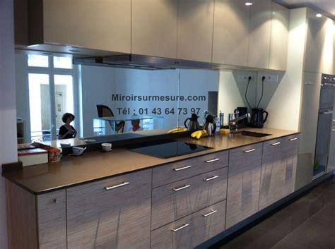 cr馘ence en miroir pour cuisine crédence miroir sur mesure pour votre cuisine miroirsurmesure com