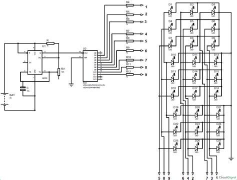 3x3x3 led cube using 555 timer and cd4020 ic arroboticsblog