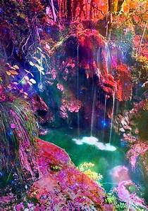 Trippy dope waterfall | A Total Mind Fuck | Pinterest ...