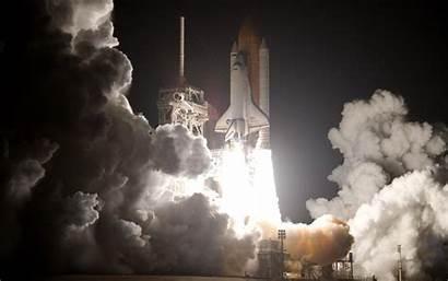 Canaveral Cape Rocket Cloud Space Atmosphere Shuttle