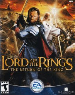 The Lord Of The Rings The Return Of The King (video Game