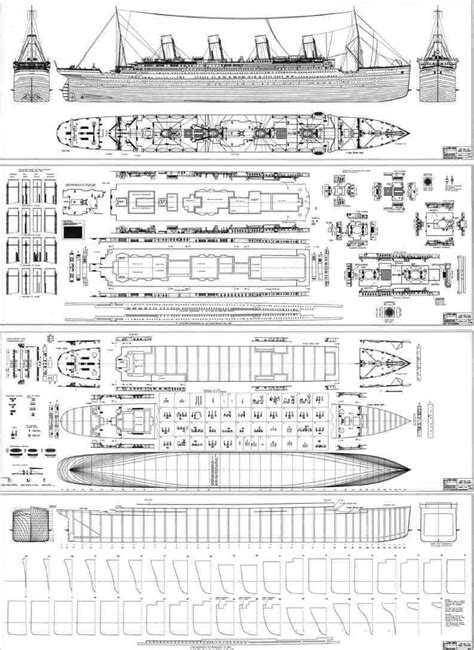 blueprints of the ship of dreams titanic titanic ships and rms titanic
