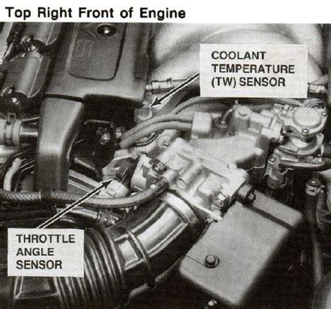 book repair manual 2007 acura tl lane departure warning replace engine coolant temperature sensor 2001 acura nsx engine coolant temperature sensor