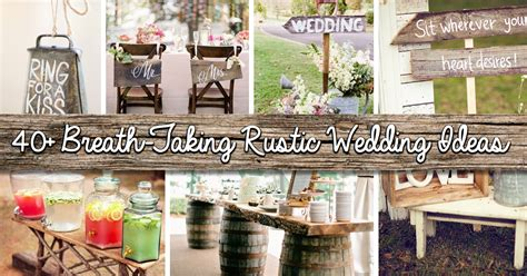 rustic wedding gift table ideas