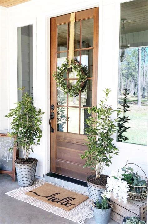 Perfect Porch Decor For Spring Or Summer Home Front