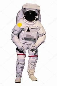 Astronaut suit on white background — Stock Photo © wckiw ...