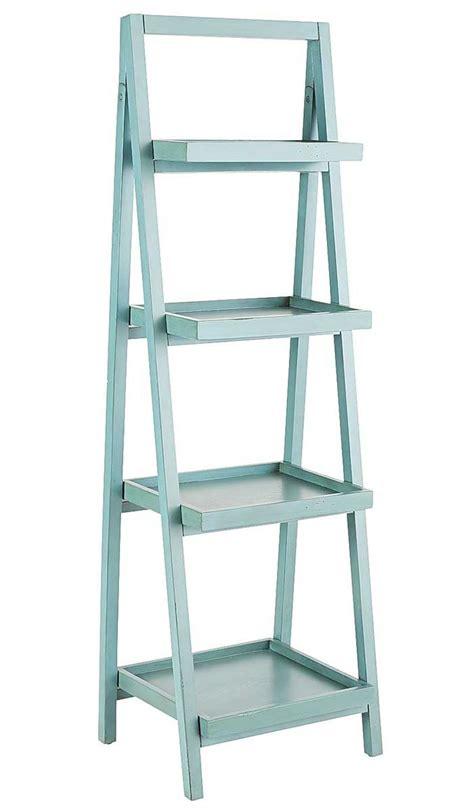 teal blue ladder shelf smoke blue shelf everything turquoise 6020