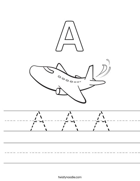C Is For Cloud Coloring Page Twisty Noodle A A A Worksheet Twisty Noodle