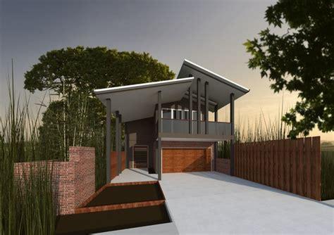 Genius Sloping Block House Design by Casa Constructions Narrow Block Designs