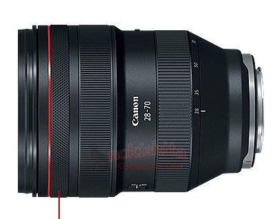 of four canon rf lenses leaked lens rumors