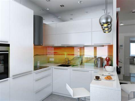 credence en verre transparent cuisine crédence cuisine originale 48 idées en matériaux différents