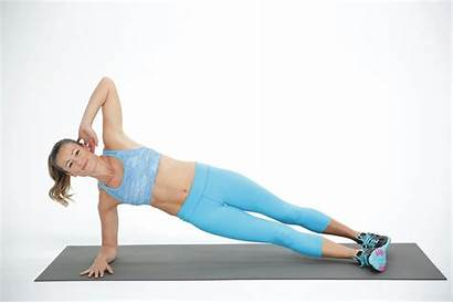 Plank Side Planks Lateral Variations Plancha Reverse