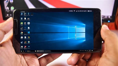 top on android install run windows 10 8 7 xp on any android phone no
