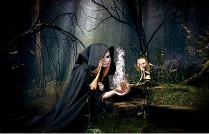 Witch Background Fantasy Magic Halloween Secret Wallpapers