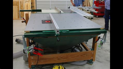 downdraft multi function router table outfeed