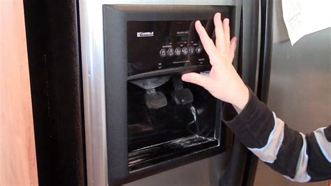 Kitchenaid Refrigerator Leaking Water From Dispenser how to fix a water dispenser refrigerator