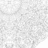 Coloring Geometric Complex Printable Sheets Getcolorings Getdrawings sketch template