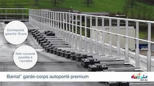 Toiture Terrasse Inaccessible : barrial autoport garde corps lest pour toiture terrasse inaccessible au public youtube ~ Melissatoandfro.com Idées de Décoration