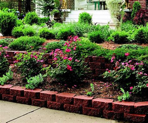 terraced yard landscape ideas curb appeal on a dime terraced garden gardens and raised beds