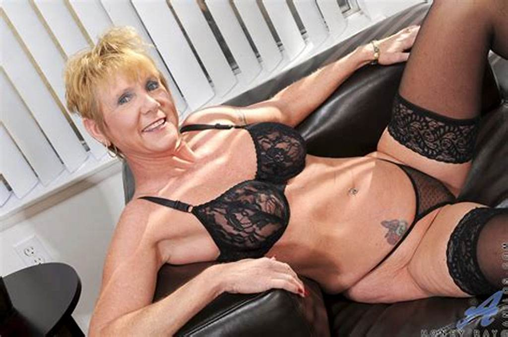 #Sexy #Blonde #Mature #Granny #Fingers #Her #Pierced #Pussy #While