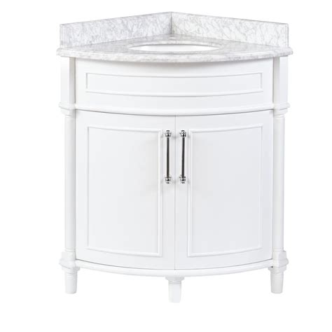 Corner Sink Vanity Bathroom - home decorators collection bathroom corner vanity cabinet