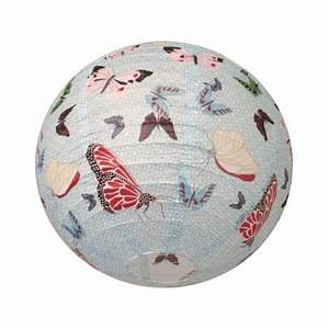 Suspension Boule Japonaise : suspension boule japonaise d coration papillon bjpap013 luminaire ~ Voncanada.com Idées de Décoration