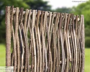 haselnusszaun naturzaune sichtschutz haselnuss vom With französischer balkon mit sichtschutz garten billig