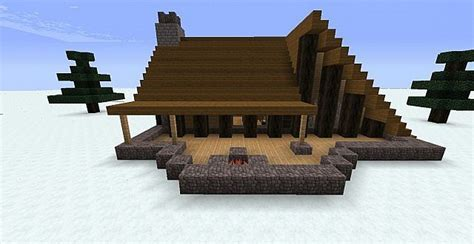 Winter Cabin Minecraft Project