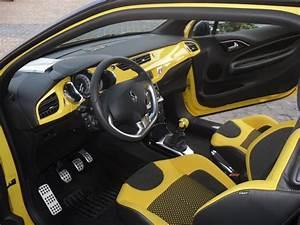 Ds3 Noir Et Orange : ds3 1 6 thp 150 sportchic jaune p gase toit noir onyx ~ Gottalentnigeria.com Avis de Voitures