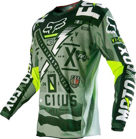 wholesale motocross gear 32 95 fox racing mens 180 vicious jersey 235434