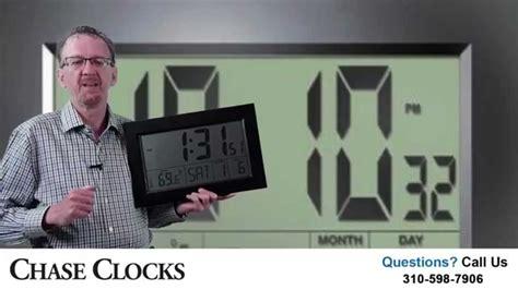 Large Display Digital Wall Clocks  House Modern Bathroom