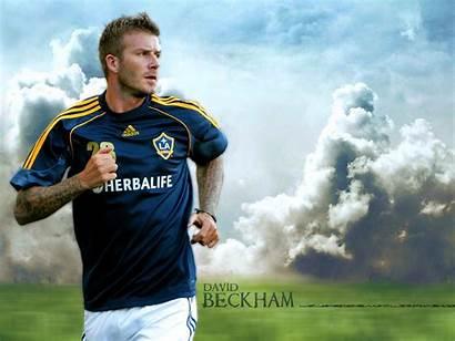 Beckham David Wallpapers Galaxy Football Desktop Stars
