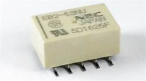 Nec   Tokin  Low Signal Relays 5v Latching Relay  2 Form C