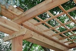 Construire Une Pergola En Bois : faites construire une pergola en bois loire eco bois ~ Premium-room.com Idées de Décoration