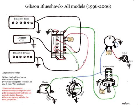 Gibson B Wiring Diagram by Blueshawk Wiring Diagram Schematic Gibson Color Gibson