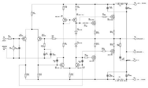 Watt Mosfet Real Power Amplifier