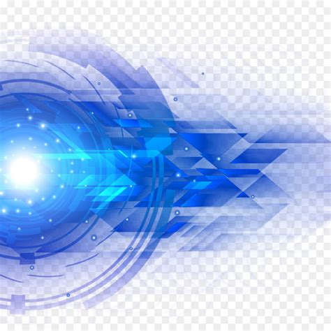 Light Blue  Science And Technology Blue Light Effect Png