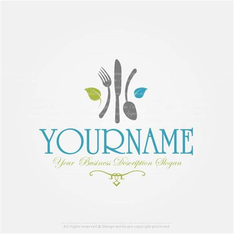 create a logo restaurant logo template