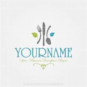 Create a Logo - Restaurant logo template