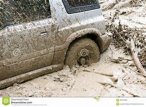 Car Stuck In Mud Stock Photo - Image: 49787590
