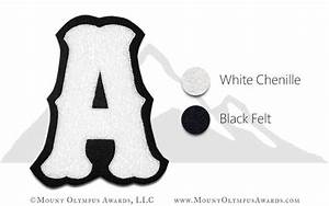 single felt fancy block chenille varsity letter With fuzzy letter patches