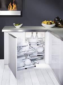 Cuisine D Angle : meuble d 39 angle cuisine ~ Teatrodelosmanantiales.com Idées de Décoration