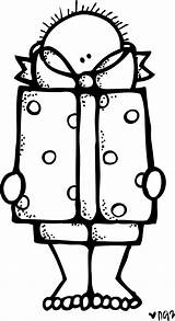 Clipart Melonheadz Present Clip Thank Blanco Negro Kindness Colorear Freebie Dibujos Friends Webstockreview Freebies Today Coloring Infantiles Hojas Clase Digitales sketch template