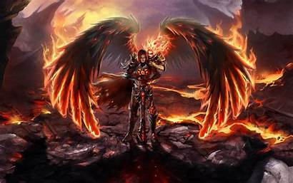 Might Fire Heroes Magic Wallpapers Pc Allwallpaper
