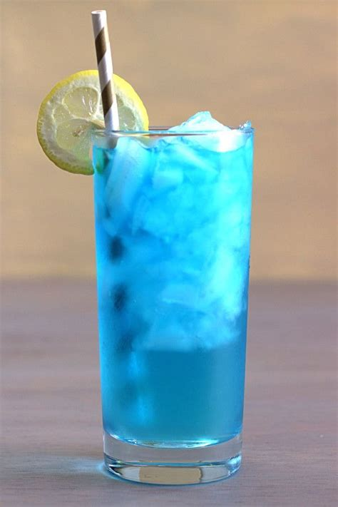the in the driveway cocktail recipe is a blue