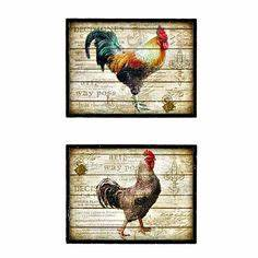 celebrating home on pinterest bean pot roosters and With kitchen colors with white cabinets with framed rooster wall art